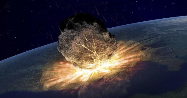 астероид, космос, катастрофа