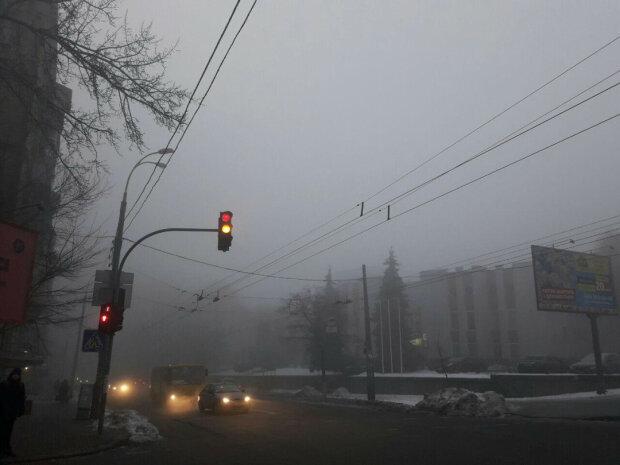 Туман у Києві: озвучили невтішний прогноз