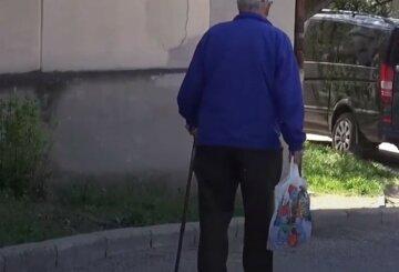 """""""Стало погано"""": нахабний злодій цинічно обібрав пенсіонера посеред вулиці, забрав у дідуся останнє"""