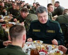 порошенко солдаты столовая еда