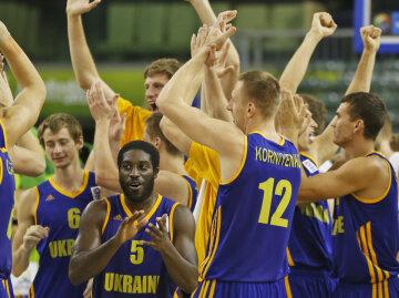 сборная Украины баскетбол
