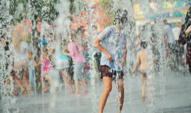 погода, лето, жара