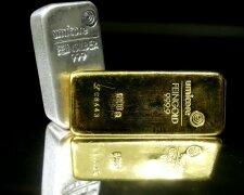 золото серебро слиток слитки