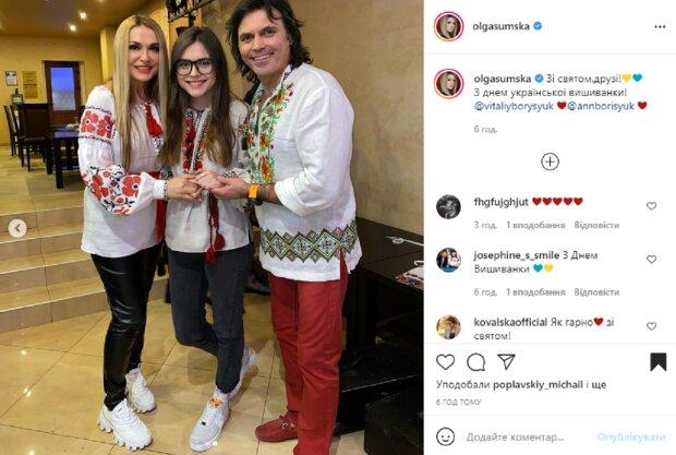 """Младшая дочь Ольги Сумской поразила внешностью, копия Борисюка: """"Папа-ксерокс"""""""