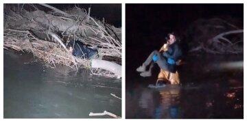 Українку забрала течія: закохана пара провела невдале побачення біля водойми, кадри