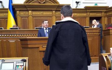 Савченко, Луценко, Рада