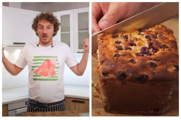 """Переможець """"Майстер Шеф"""" Клопотенко розповів рецепт смачного пирога: """"Виходить божественним..."""""""