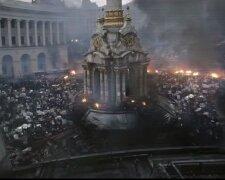 Фильм с кадрами Евромайдана