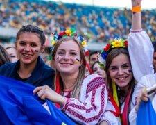 Украина, девушки, молодежь, праздник