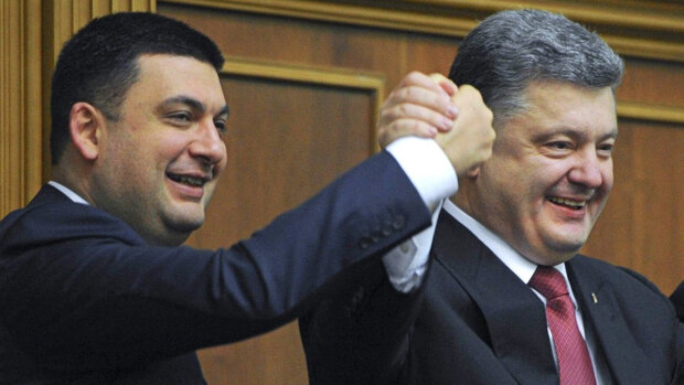 Владимир Гройсман, Петр Порошенко