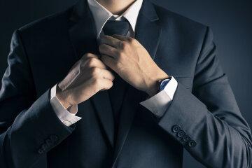 бизнесмен, галстук