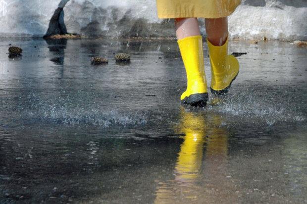дождь. резиновые сапоги, погода на 26 марта