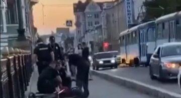 """Неадекватний велосипедист налякав харків'ян у центрі міста: """"розмахував ножем і..."""""""