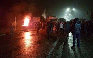 Евробляхеры протест на границе