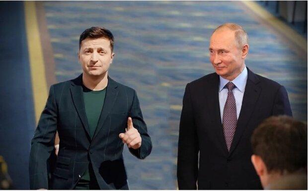 Владимир Зеленский, Владимир Путин