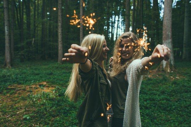 счастье, радость, друзья, девушка