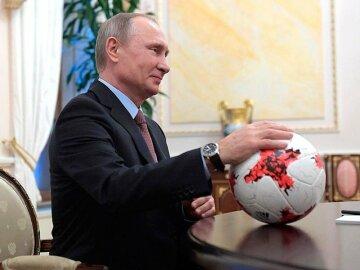 путин-футбол