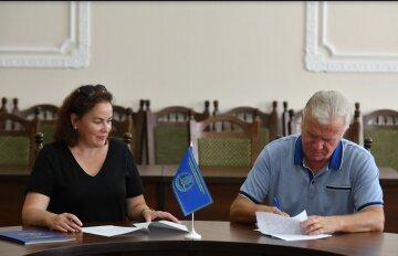 """Повышение качества образования: школа """"Оптима"""" и НУБиП договорились о сотрудничестве"""