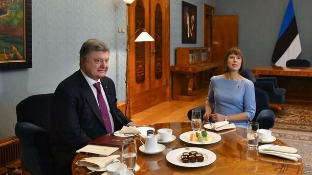 Україна чекає на естонських інвесторів – Порошенко