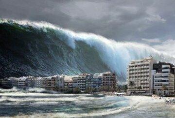 Волны, катастрофа