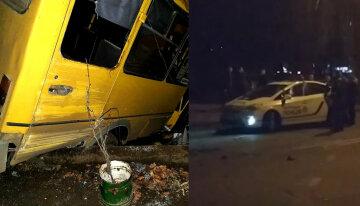 Автобус с украинцами слетел с трассы: первые подробности и кадры фатальных последствий