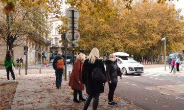 осінь, люди, погода