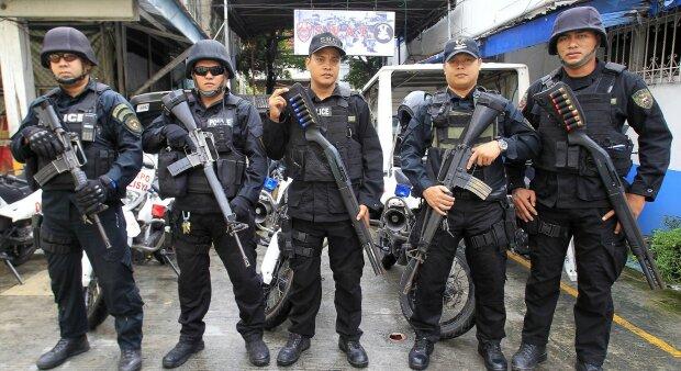 Филиппины полиция