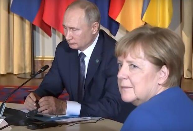 Меркель зателефонувала Путіну після зустрічі з Зеленським, у Кремлі радіють: перші подробиці