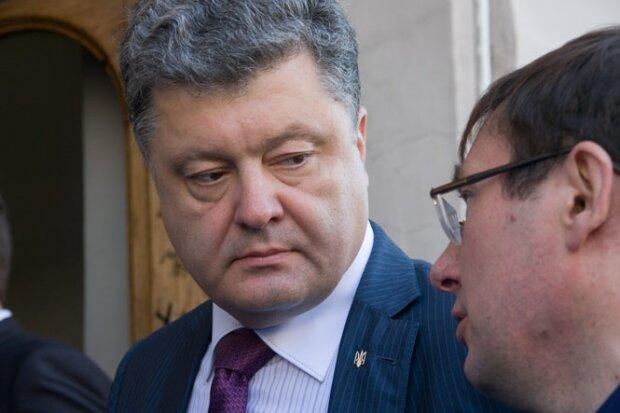 Петр Порошенко-Юрий Луценко
