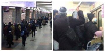 «Настоящий» локдаун в метро разозлил харьковчан, кадры: «Это свинство»