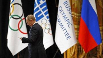 Путин, Россия, Олимпиада