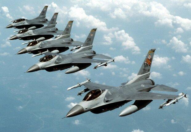 истребитель F-16 сша