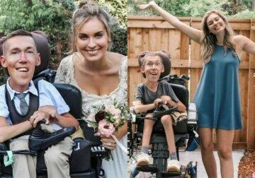 """""""С двух лет прикован к креслу"""": девушка вышла замуж за парня с инвалидностью, но нарвалась на критику"""