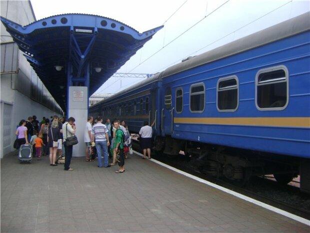 вокзал, поезд