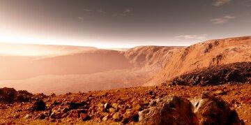 На Марсе заметили «снежное озеро»: астрономы сделали удивительный снимок в космосе