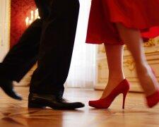 ноги туфли танцы