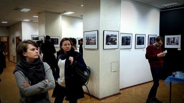 На московской фотовыставке, посвященной батальону «Донбасс», устроили драку
