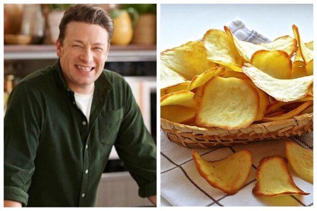джейми оливер, чипсы