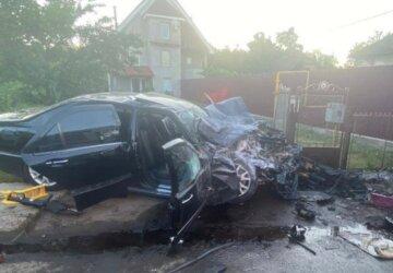 Страшна аварія забрала життя молодого українця, двоє в реанімації: кадри з місця