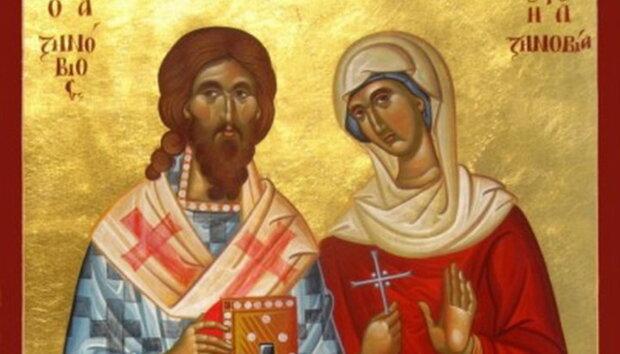День пам'яті священномучеників Зиновія та Зіновії 12 листопада: що не можна робити в цей день