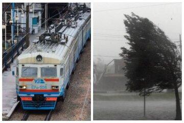Негода паралізувала рух одеських поїздів: обірвана контактна мережа