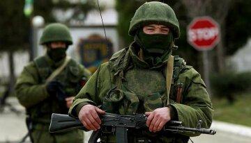 Зеленый человечки Путина