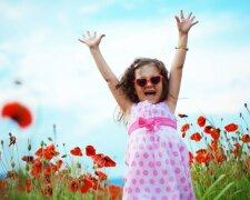 лето, радость, отдых, тепло, весна, ребенок, девочка