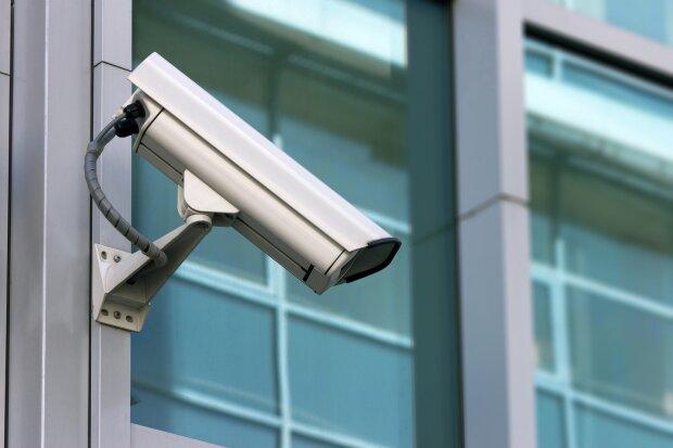 видеокамера, камера наружного наблюдения