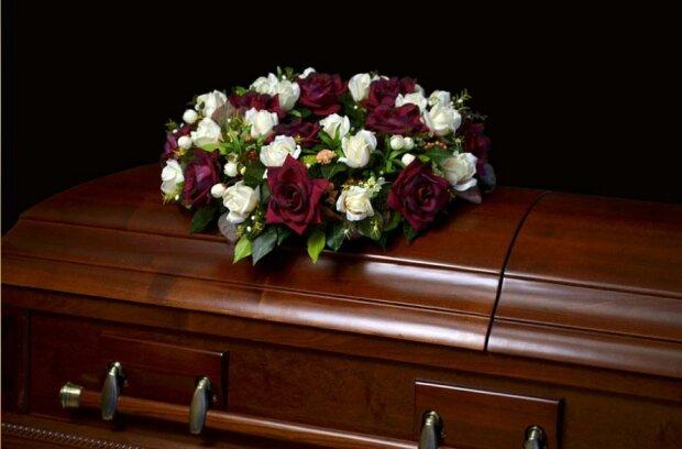 Гроб венок