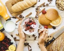 завтрак, диета, еда
