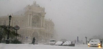 Одесса-снег