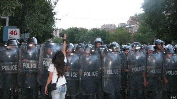 Мятежники в Ереване