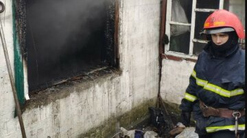 Пожежа спалахнула на Харківщині, чоловік опинився у вогняній пастці: кадри з місця НП