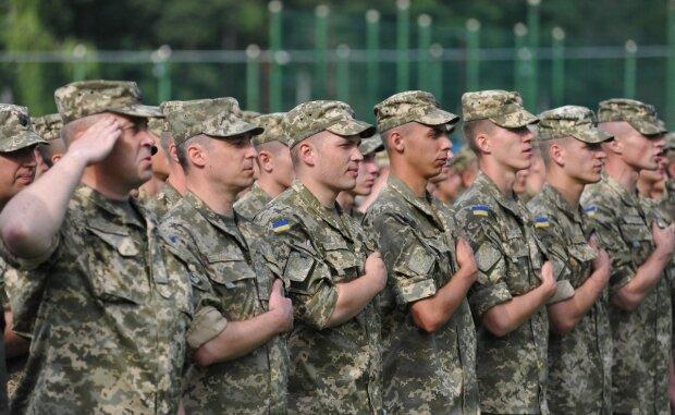 украинские военные армия